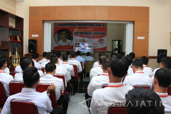 70 Petugas Lapas Ikuti Pelatihan Teknis Pengamanan