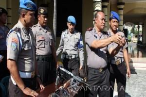 Polres Madiun Kota Lakukan Pemeriksaan Senjata Api