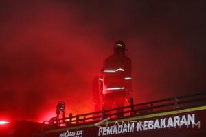 Kebakaran Gudang Permen