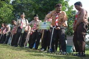 Pramuka Jatim Warnai Kampung Tumbuhkan Minat Wisatawan