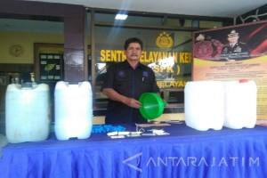 Polisi Segel SPBU Salahgunakan Penjualan BBM Bersubsidi