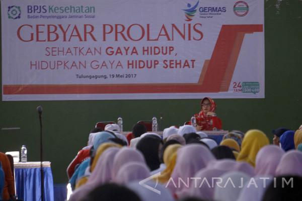 BPJS Gelar Lomba Senam Prolanis di Tulungagung