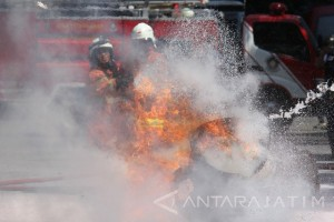 Simulasi Penanganan Kebakaran