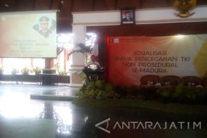Dirjen Imigrasi Sosialisas Pencegahan TKI Nonprosedural di Pamekasan