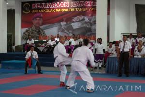 Pasmar-1 Selenggarakan Kejuaraan Karate Komando Pelaksana Marwiltim