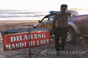 Seorang Remaja Dilaporkan Tenggelam di Pantai Serang Blitar