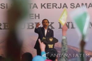Kunjungan Kerja Presiden di Malang