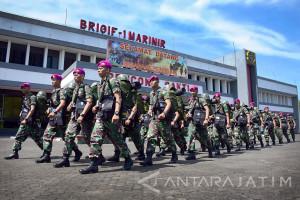 Puluhan Siswa Diktukpa Ikuti Praktik Pasukan Brigif