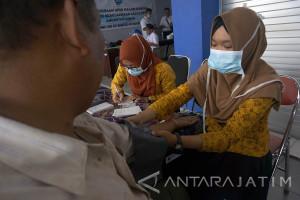 BNN Gelar Tes Urine Awak Angkutan Umum Tulungagung (Video)