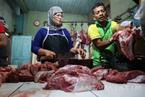 Pembelian Daging Sapi di Pasar Madiun Turun