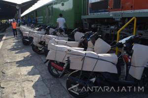 Daop Madiun Layani Pendaftaran Angkutan Motor Gratis