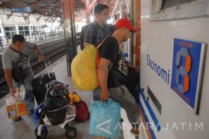 Penumpang KA Daop Madiun Capai 199.844 Orang