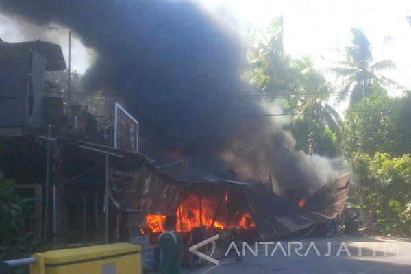 Kebakaran Landa Ruko di  Pamekasan