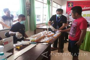 BNN Sumenep Tes Urine 75 Warga Rutan