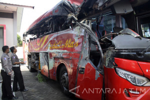 Kecelakaan Bus di Probolinggo