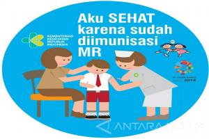 Imunisasi Campak-Rubella di Bondowoso Melebihi Target Nasional