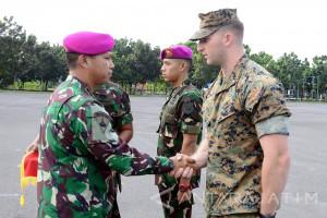 Latihan Bersama Marinir MTWS Berakhir