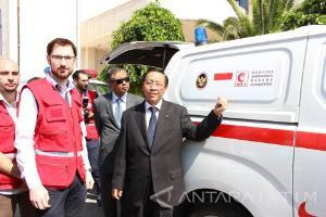 Rakyat Indonesia Sumbangkan Ambulans untuk Suriah