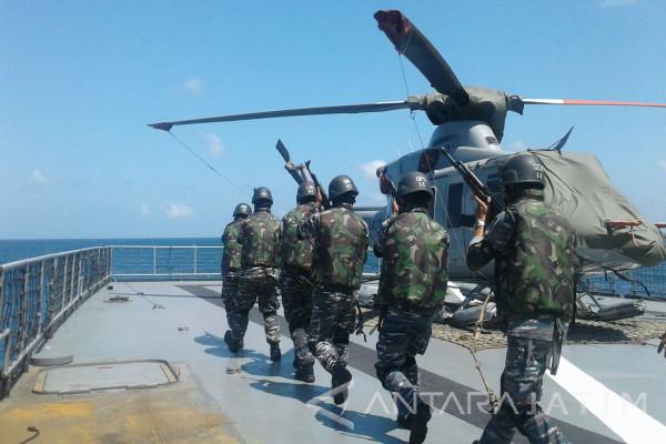 Koarmatim Siap Menanggulangi Aksi Terorisme di Laut