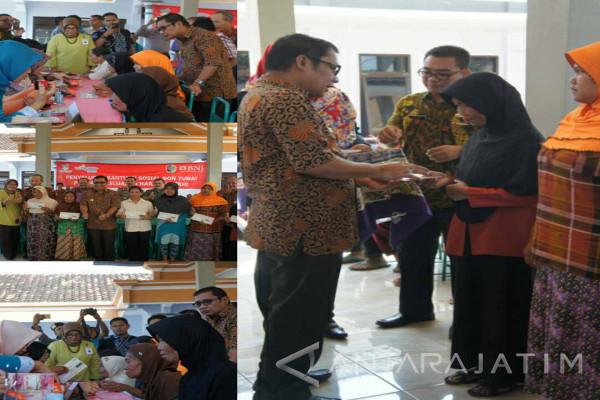 BNI46 Salurkan Bansos Nontunai PKH di Pakel Tulungagung