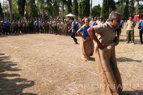 Polres-Kodim Ngawi Tingkatkan Persatuan melalui Olahraga
