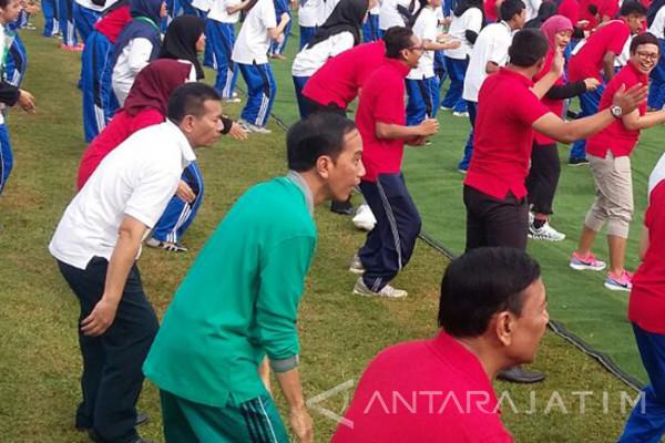 Jokowi Kemukakan Ideologi Pancasila Arahkan untuk Hadapi Kompetisi