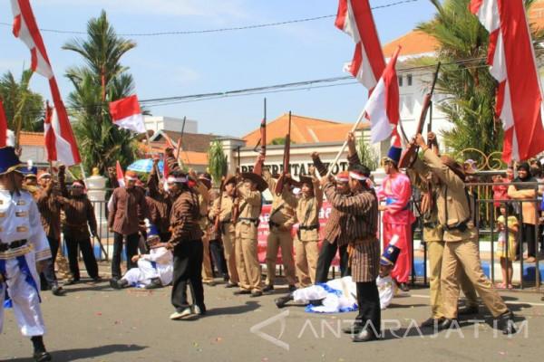 Pawai Kemerdekaan Kota Madiun Tingkatkan Nilai Nasionalis