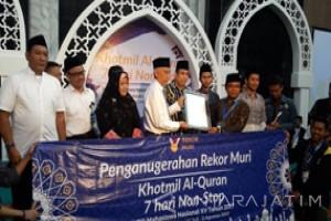 Universitas Brawijaya Pecahkan Rekor MURI Khataman Al Quran Terlama (Video)