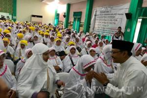 Gus Ipul Titip Doa ke Calhaj Agar Jatim Adem (Video)