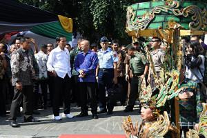 Jokowi Bangga Jember Kota Karnaval Dunia (Video)