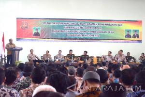 Bupati Mojokerto Ingatkan Prinsip Akuntabilitas Penggunaan Dana Desa