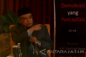 Said Aqil: Pancasila Cocok dengan Islam Nusantara