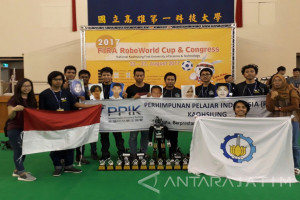 ITS Juara Umum Kompetisi Robot di Taiwan