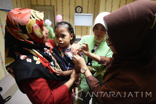 Dinkes Bangkalan Sisir Balita Luput Program Imunisasi Campak