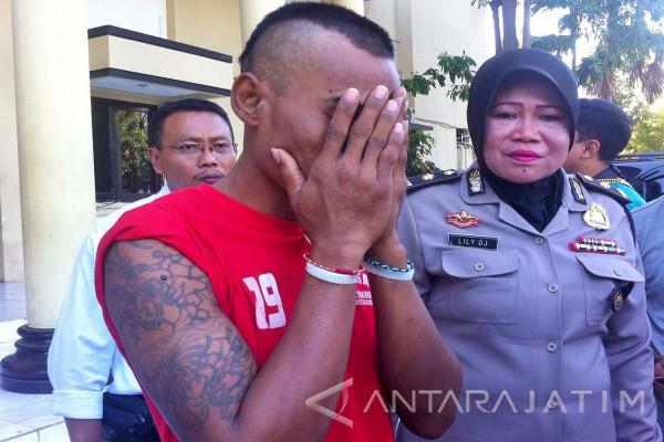 Polrestabes Surabaya Tangkap Penjahat Kambuhan