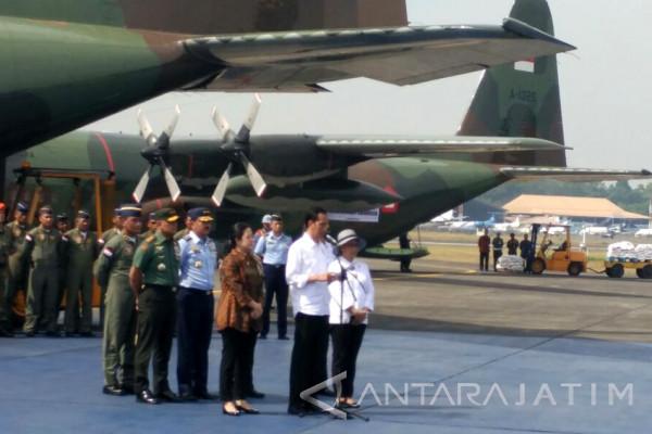 Jokowi Lepas Bantuan Kemanusiaan untuk Pengungsi Rohingya (Video)