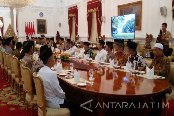 Jokowi Jelaskan Perpres Pendidikan Karakter ke Ulama (Video)