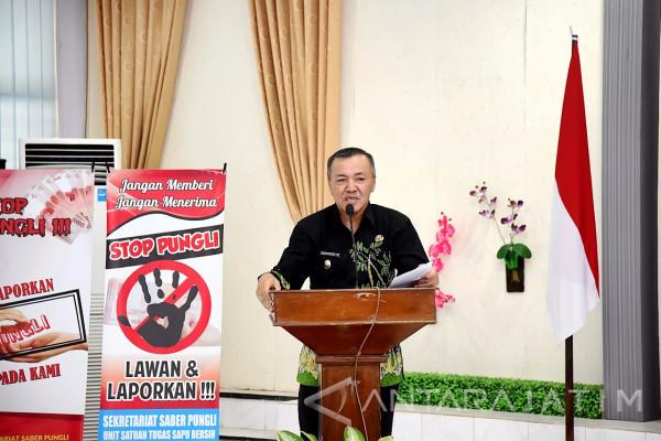 Pemkab Lumajang Canangkan Wilayah Bebas Korupsi