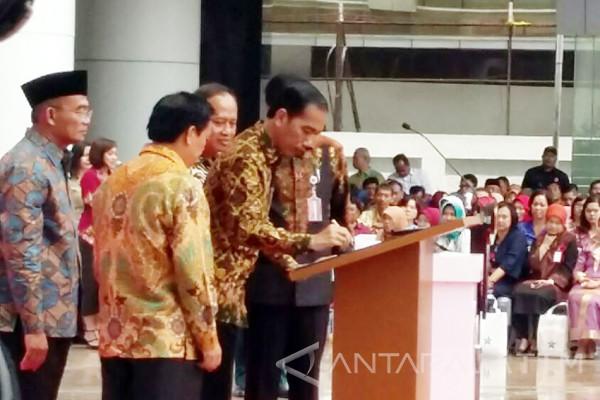 Jokowi Sebut Gedung Perpusnas Tertinggi di Dunia (Video)