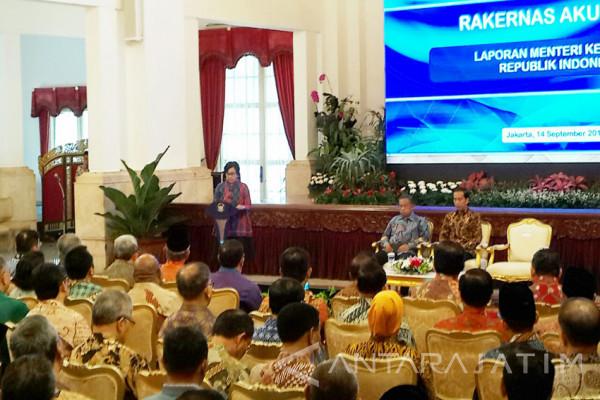 Jokowi Buka Rakernas Pelaporan Keuangan Pemerintah (Video)