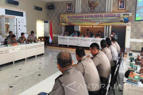 Polres Sidoarjo Siagakan 328 Personel Jaga PSHT