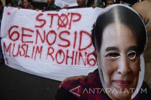 Aksi Teaterikal Untuk Rohingya