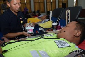 Donor Darah Peringati Hari Lalu Lintas