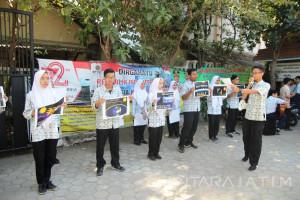 Siswa Al-Muslim Sidoarjo Ajak Masyarakat Jaga Lapisan Ozon
