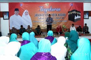 Wali Kota Kediri Janji Perbaiki Fasilitas Calon Haji