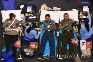 Donor Darah HUT ke-72 TNI AL