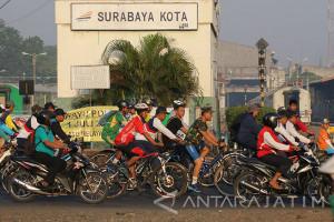 Sepeda Gembira HUT TNI