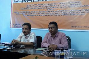 KPU Bangkalan Kekurangan Biaya Pilkada Rp14 Miliar
