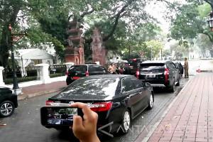 Menko Polhukam dan Panglima TNI Datangi Istana