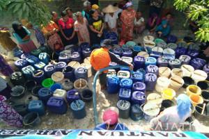 BPBD Bojonegoro Tetap Distribusikan Air Bersih